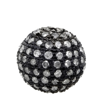 jewels pave diamonds findings balls beaded pave ball pave diamond ball pave diamond jewelry sterling silver silver ball silver beads silver ball findings findings for jewelry making