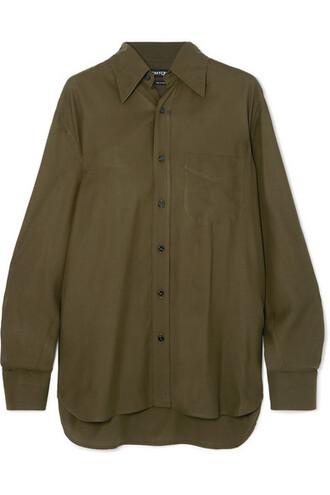 shirt green top
