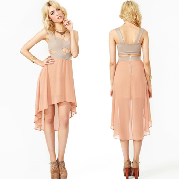 nude dress nude instant dress impressive dress high low dress sleeveless dress