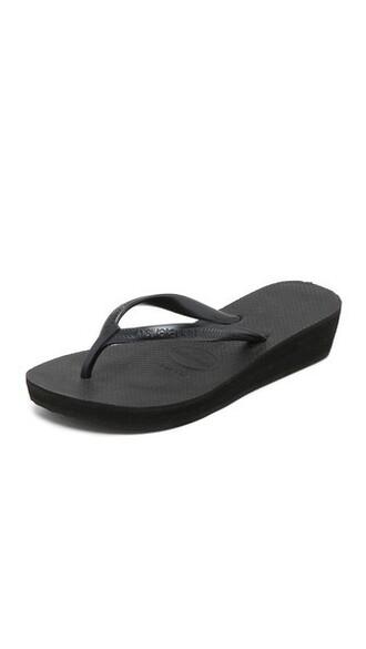 high light black shoes