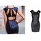 Shiny bodycon dress | awesome world - online store