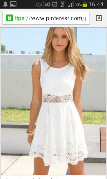 dress white dress summer dress