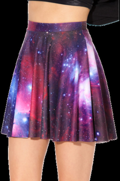 galaxy skirt cool