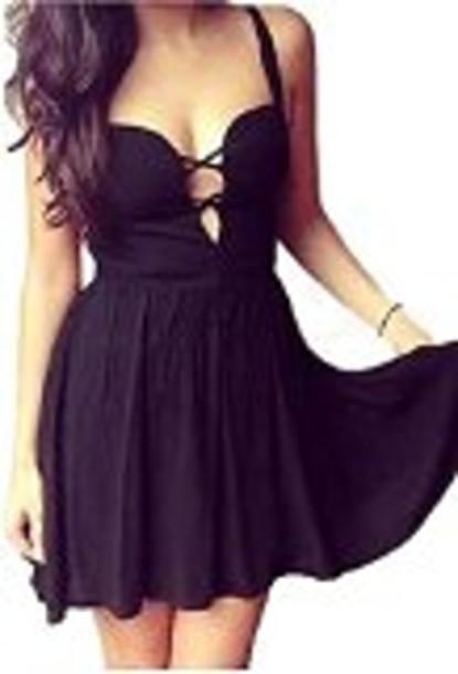 Sexy cute black dress