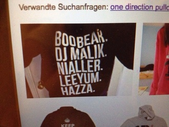 sweater one direction one direction sweater t.o.p harry styles one direction tees bag tank top