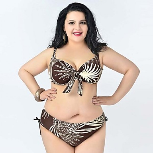 Summer Big Women Bikini Australia Plus size Swimsuit Australia Big ...