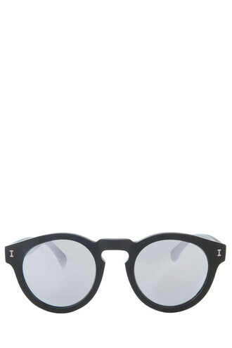 matte women sunglasses black