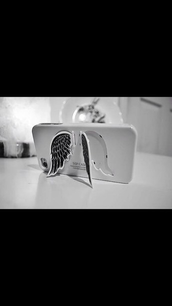 bag iphone cover phone cover wings jewels