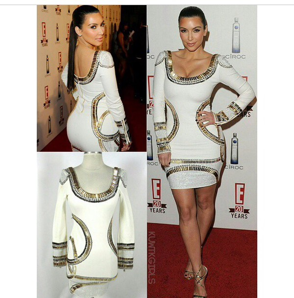dress kim kardashian dress kim kardashian long sleeve dress fashion