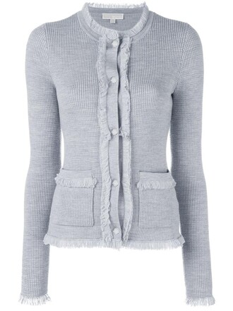 cardigan women grey sweater