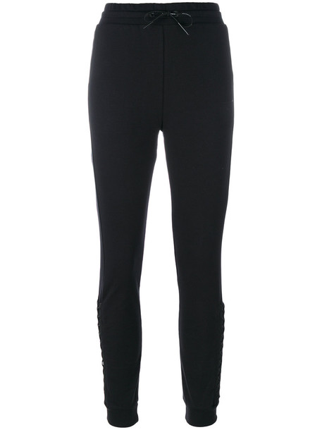 puma pants track pants women spandex cotton black
