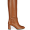 Gomma leather knee-high boots