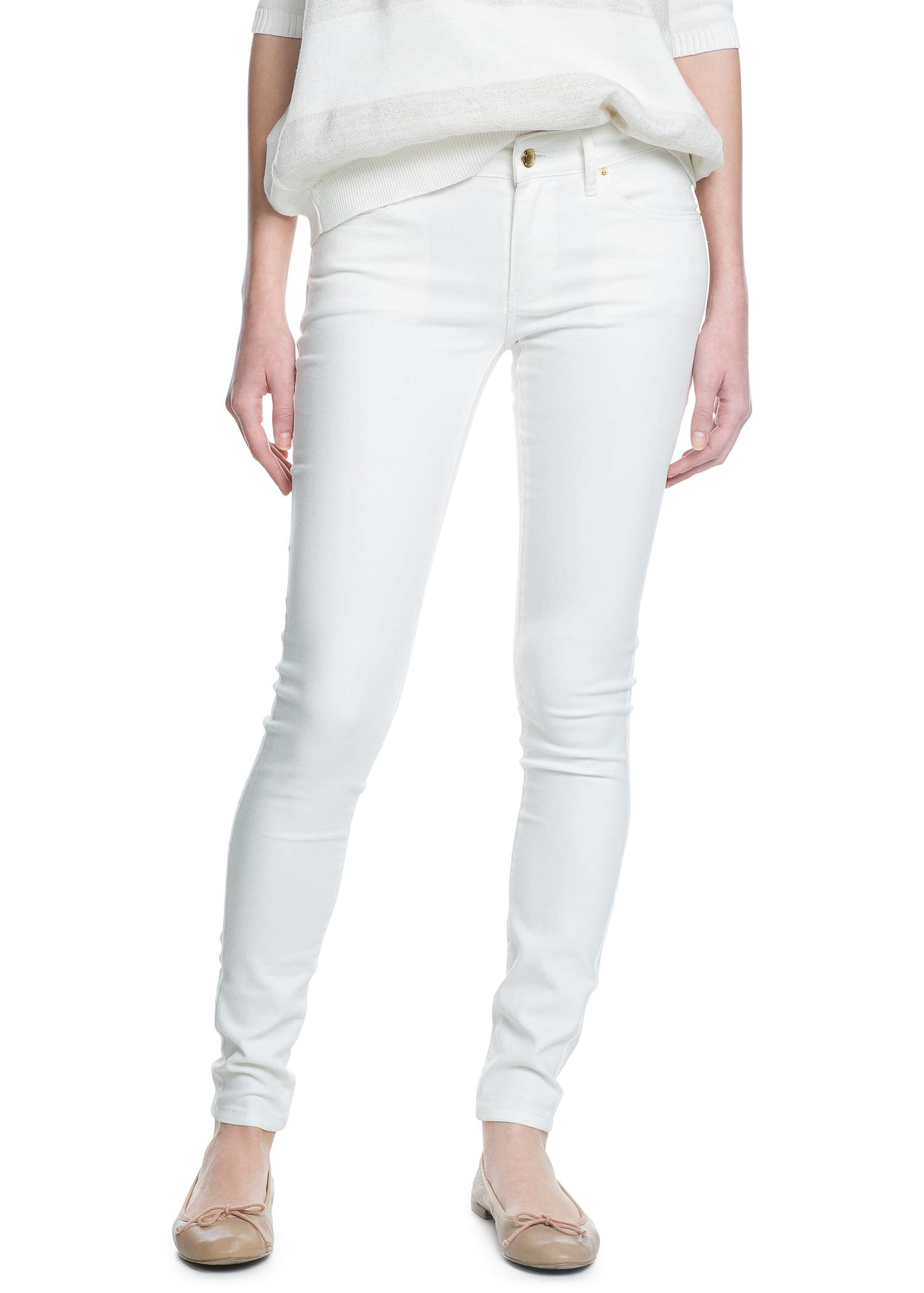 Super slim-fit paty jeans - Women | MANGO
