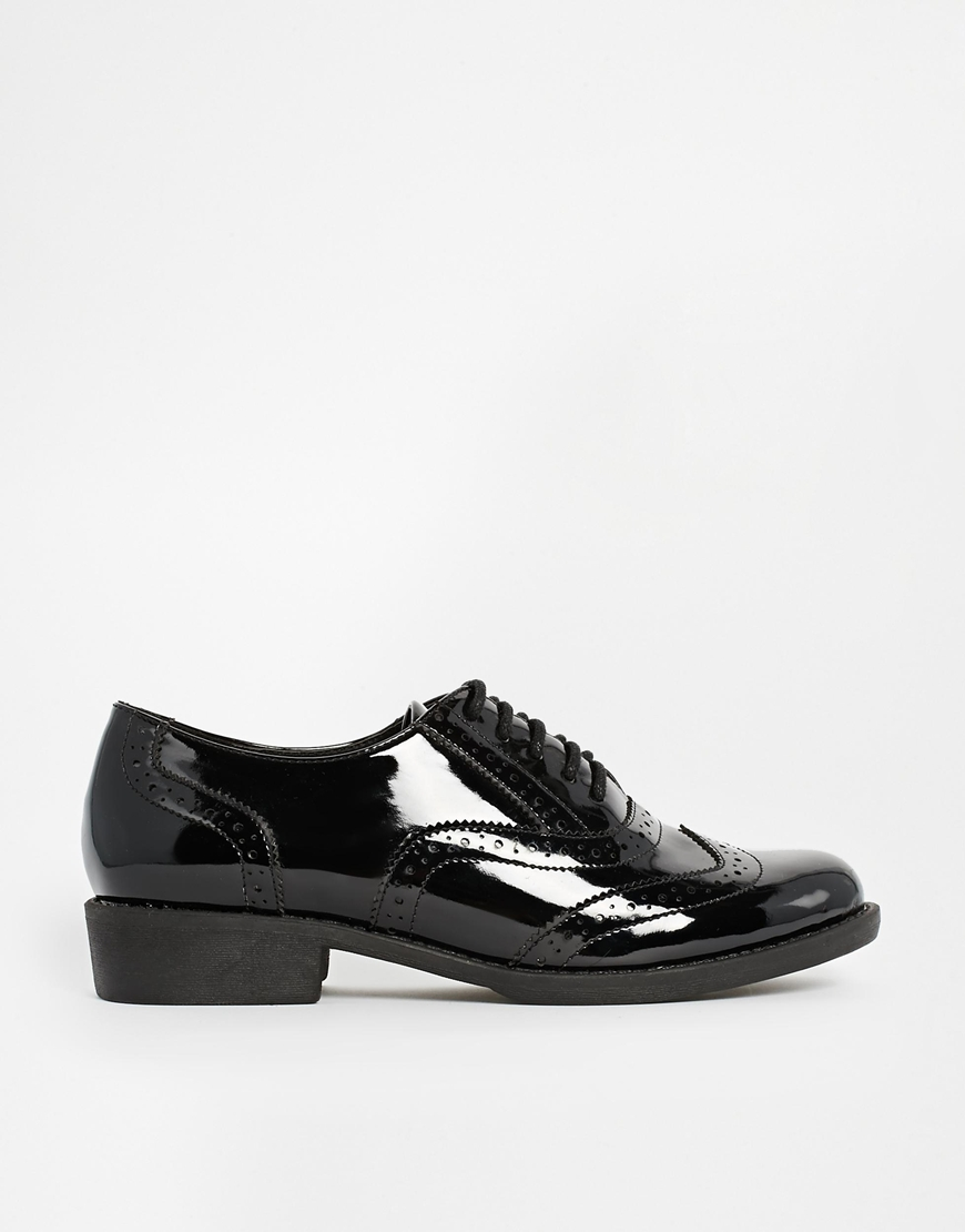 ASOS MAKESHIFT Brogue Lace Ups at asos.com
