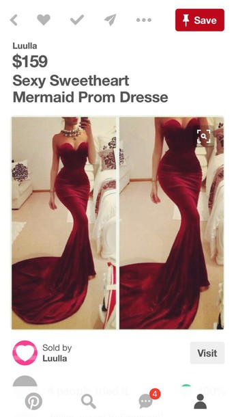 dress red dress red prom dress ball gown dress red