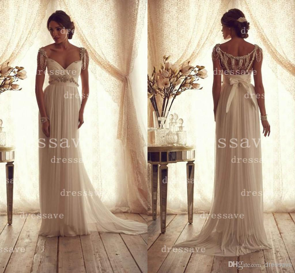 Cheap Backless Wedding Dress - Discount 2014 New Wedding Dresses Sexy Spaghetti Straps Sweetheart Online with $174.16/Piece | DHgate