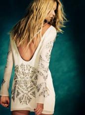 bride,dress,sequins,shift dress,bachelorette