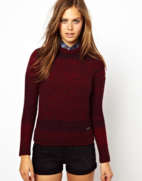 Barbour | Barbour Chunky Christmas Jumper at ASOS