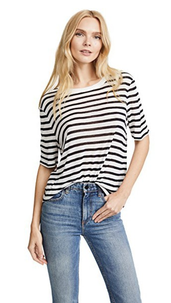 T by Alexander Wang cropped tee cropped top