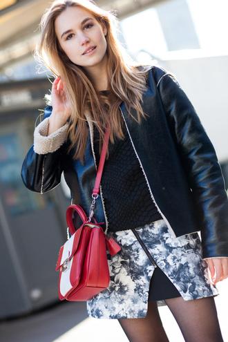 fashion gamble skirt jacket sweater bag shoes jewels