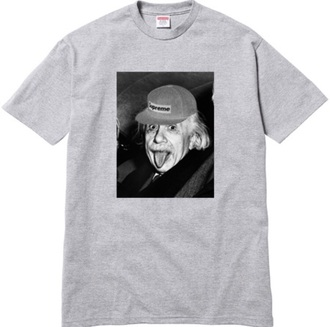 shirt albert einstein supreme t-shirt men t-shirt menswear einstein albert supreme t-shirt mens shirt unbranded