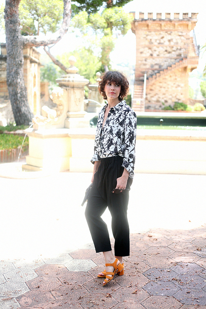 che cosa blogger pants shirt shoes sunglasses