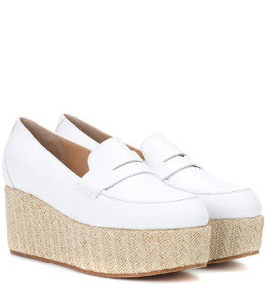 Gabriela Hearst loafers white shoes