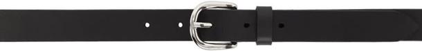 Isabel Marant belt leather black black leather