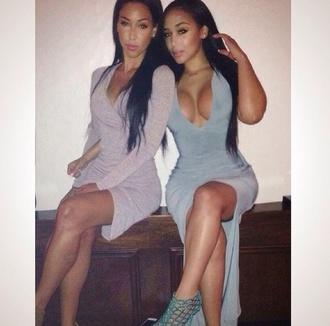 dress tourquoise/blue dress grey dress