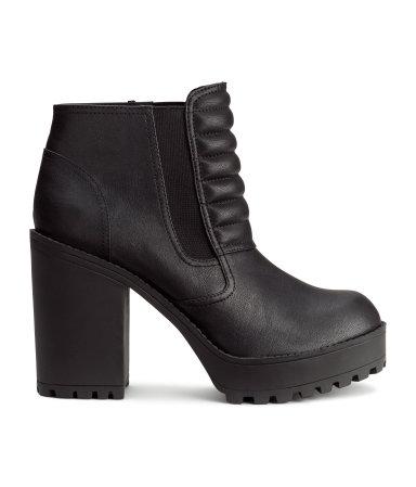 h m platform boots 25