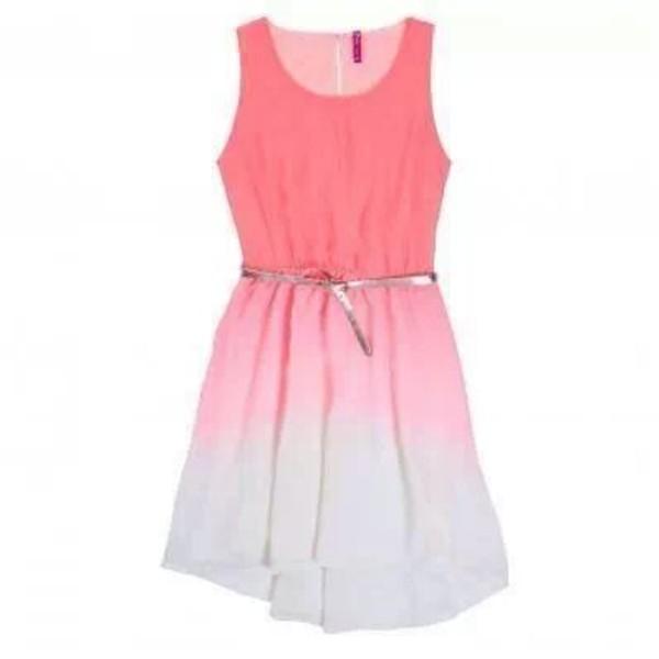 dress robe rose white