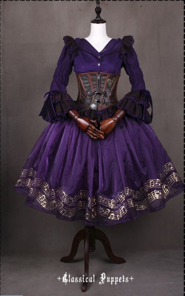 Purple Steampunk Gowns - Wiring Diagrams •