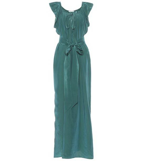 KALITA dress silk green