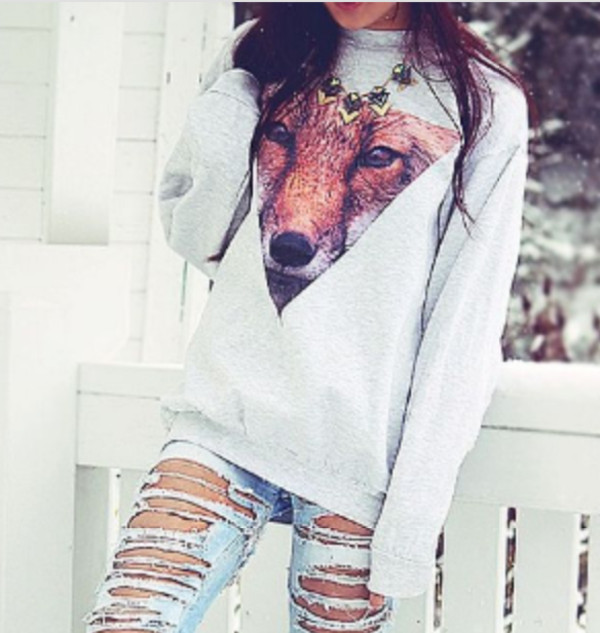 jeans sweater