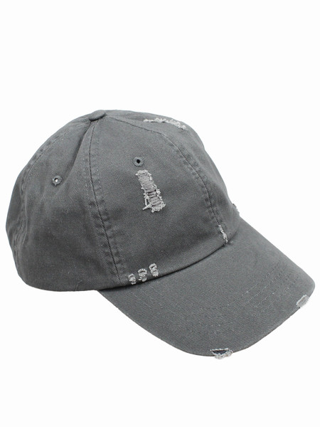 Distressed Smokey Baseball Cap