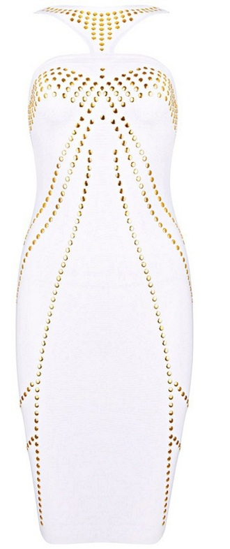 dress dream it wear it white white dress halte halter neck halter dress studded studded dress bodycon bodycon dress bandage bandage dress cut-out cut-out dress party party dress sexy party dresses sexy sexy dress party outfits spring spring dress spring outfits summer summer dress summer outfits fall outfits fall dress classy classy dress elegant elegant dress cocktail cocktail dress girly date outfit holiday dress birthday dress