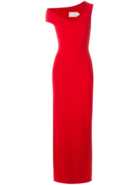 Solace London dress maxi dress maxi women spandex red