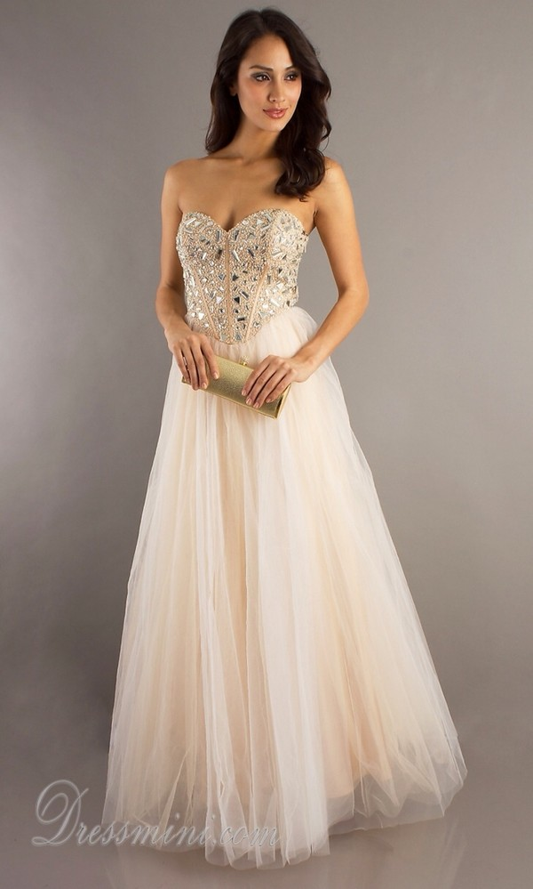 dress prom beige dress sequin dress long prom dress