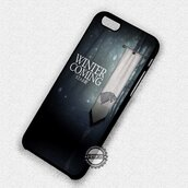 phone cover,movies,game of thrones,winter is coming,iphone cover,iphone case,iphone,iphone 6 case,iphone 5 case,iphone 4 case,iphone 5s,iphone 6 plus