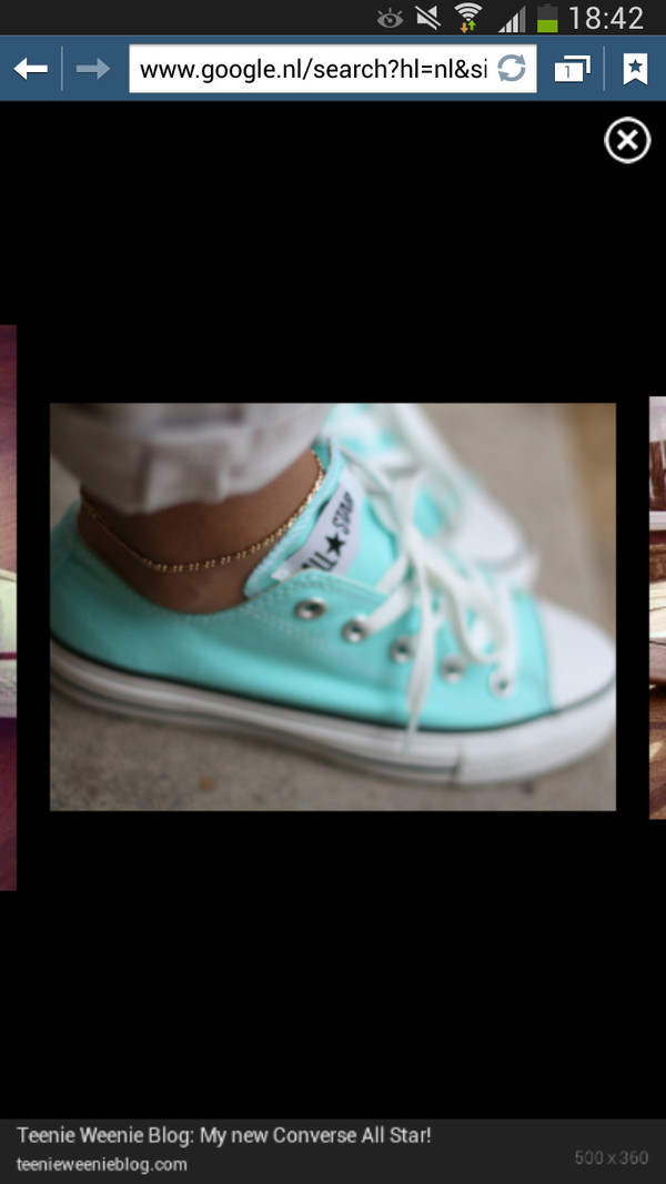 shoes allstars converse mint blue