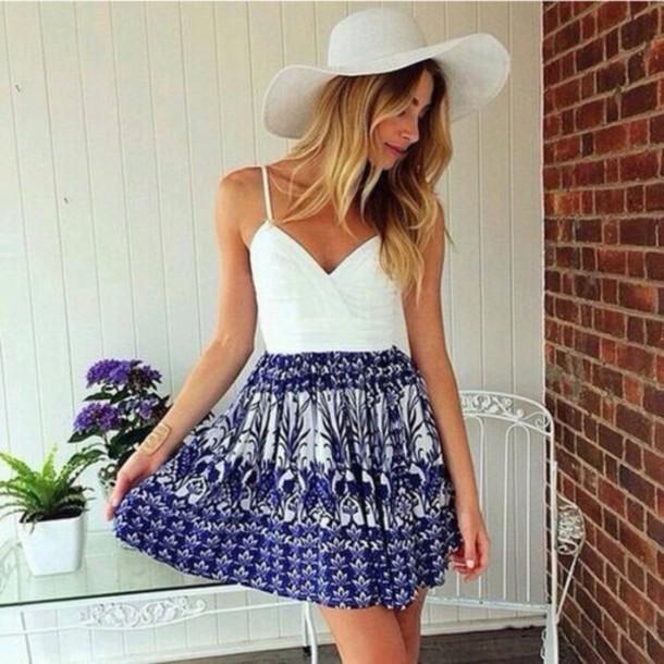 skirt flowers summer cute fashion dress summer dress style short dress cute dress