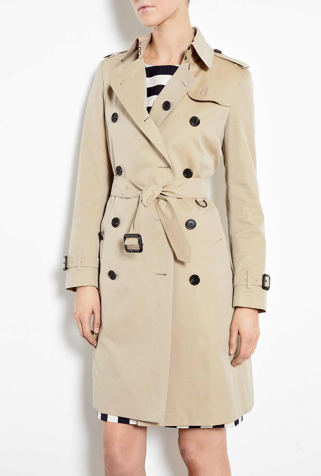 BURBERRY BRIT Cotton Trench