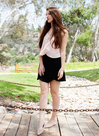 these days blogger skirt blouse jewels