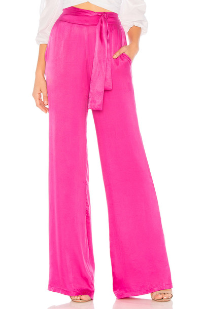 Lovers + Friends Ariana Pant in pink