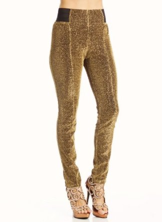 Amazon.com: glitter pants sm gold: clothing