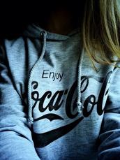 sweater,sweater cocacola coca cola sweatshirt