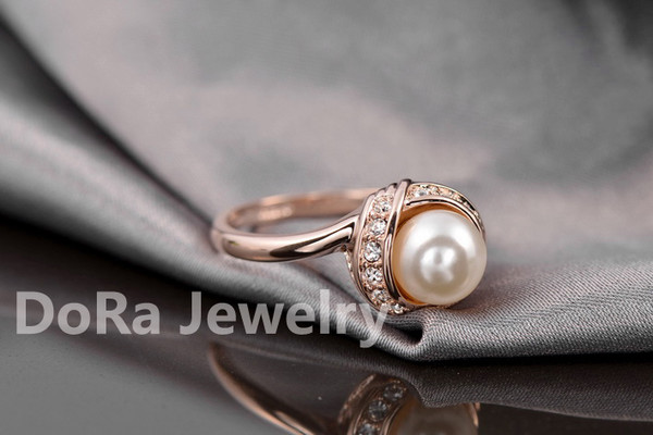 jewels 18k gold ring pearl ring women ring rings for women engagement ring wedding ring bridal ring ring party party ring new ring new women ring