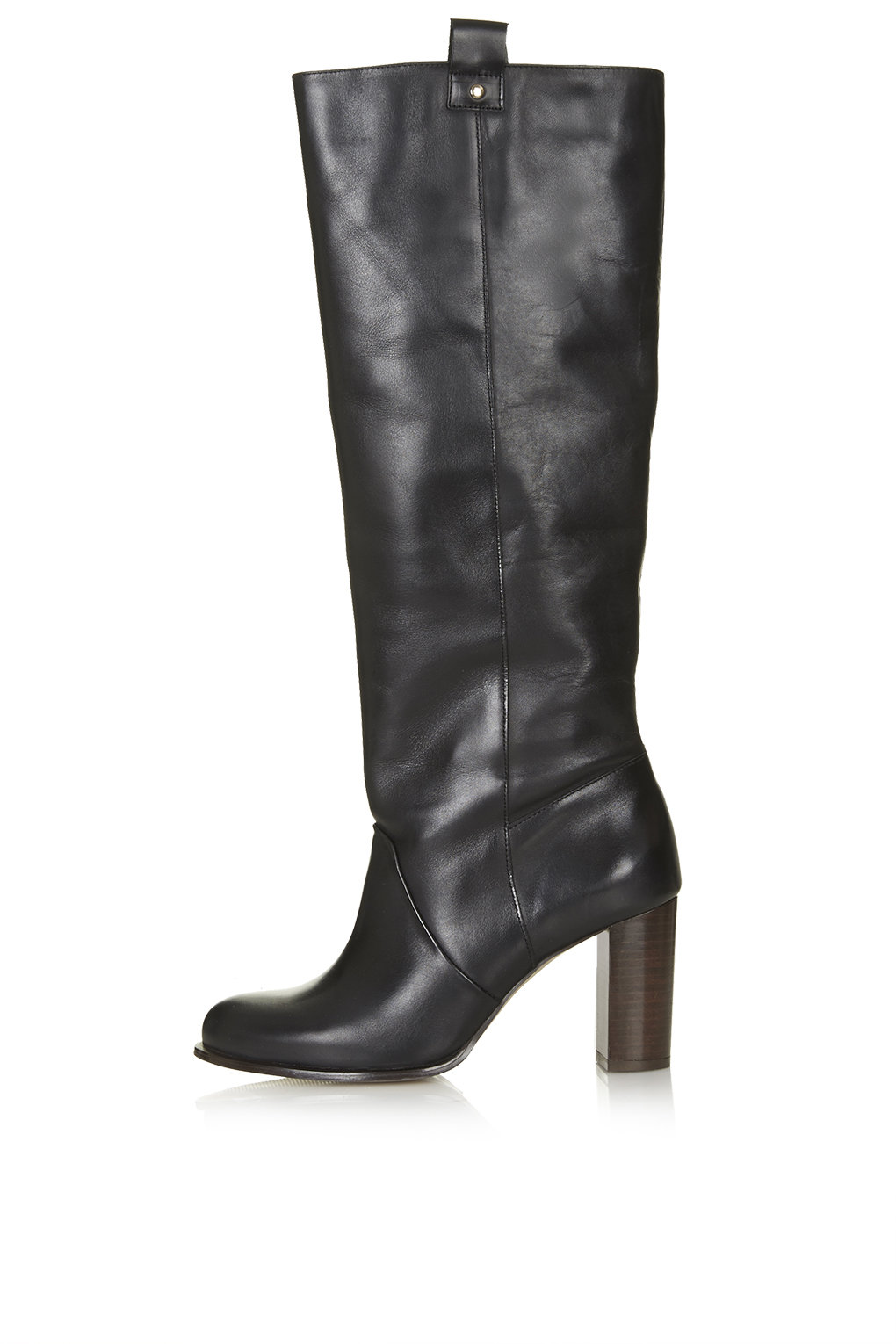 CAPTIVE '70s Straight Leg Boots - Heel Boots - Boots - Shoes