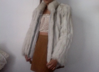 tumblr jacket clothes comfy fur soft shopping