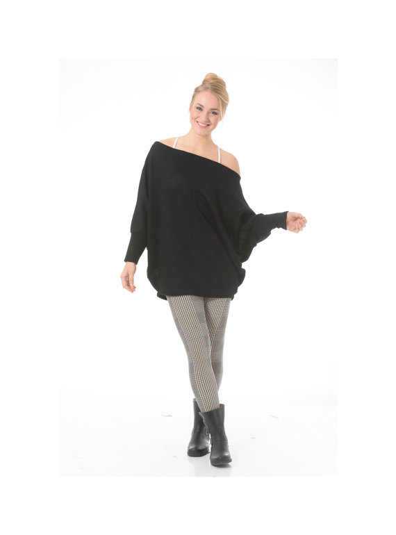 Maternity tunic top, Long oversized tunic for maternity, plus size and regular sizes